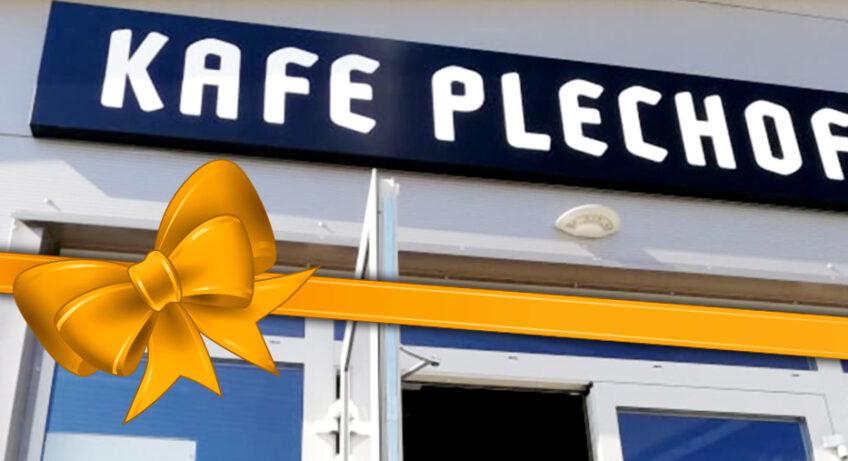 Otevření Kafe Plechofka